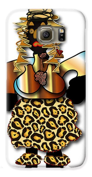 African Dancer 2 Galaxy S6 Case by Marvin Blaine