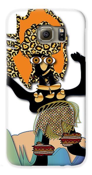 African Dancer 6 Galaxy S6 Case by Marvin Blaine