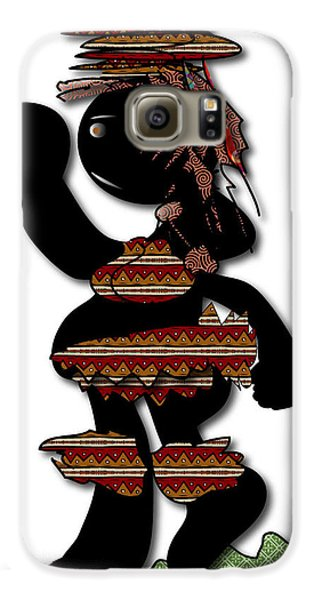 African Dancer 7 Galaxy S6 Case by Marvin Blaine