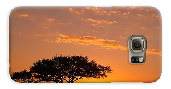 African Sunset Galaxy S6 Case