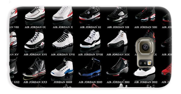 Air Jordan Shoe Gallery Galaxy S6 Case by Brian Reaves