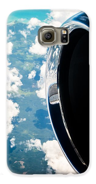 Jet Galaxy S6 Case - Tropical Skies by Parker Cunningham