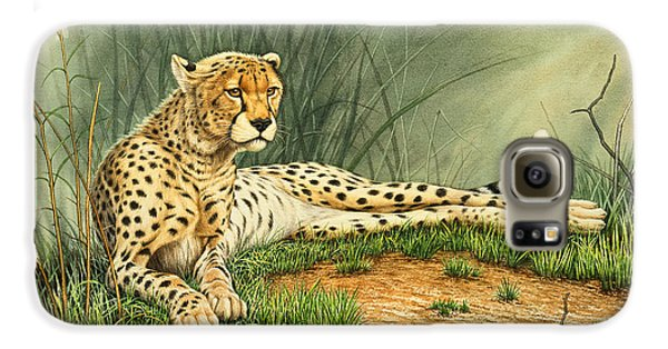 Alert Repose  - Cheetah Galaxy S6 Case
