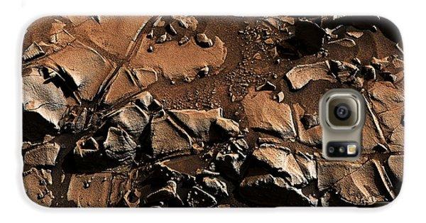 Alexander Hills Bedrock In Mars Galaxy S6 Case