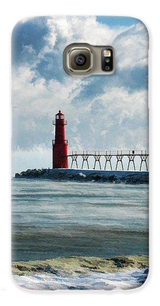 Algoma Pierhead Lighthouse Galaxy S6 Case