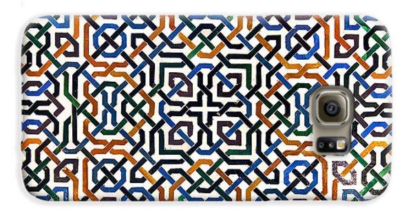 Alhambra Tile Detail Galaxy S6 Case by Jane Rix