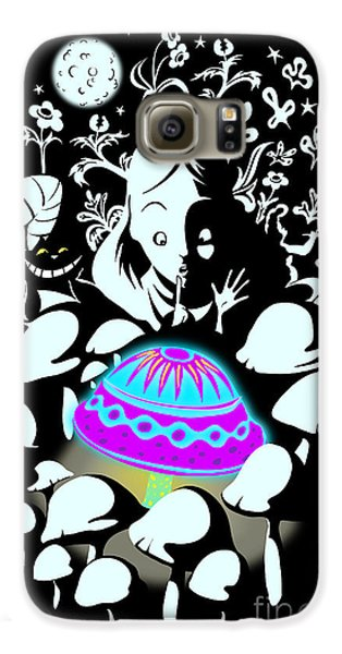Magician Galaxy S6 Case - Alice's Magic Discovery by Sassan Filsoof