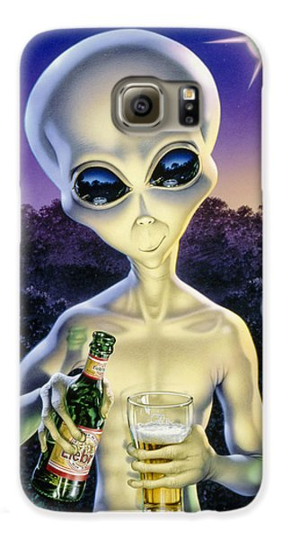 Alien Brew Galaxy S6 Case by Steve Read