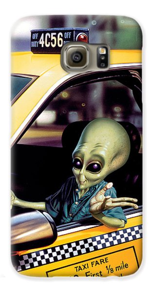 Alien Cab Galaxy S6 Case