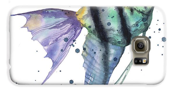 Alluring Angelfish Galaxy S6 Case