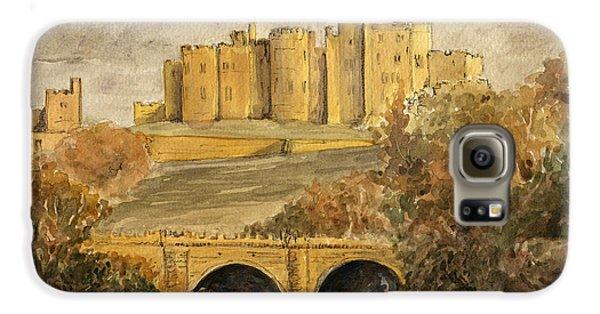 Castle Galaxy S6 Case - Alnwick Castle by Juan  Bosco