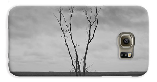 Galaxy S6 Case featuring the photograph Alone  by Ricky L Jones