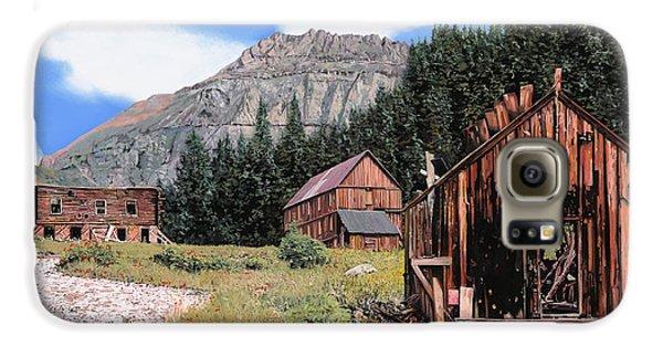 Town Galaxy S6 Case - Alta In Colorado by Guido Borelli