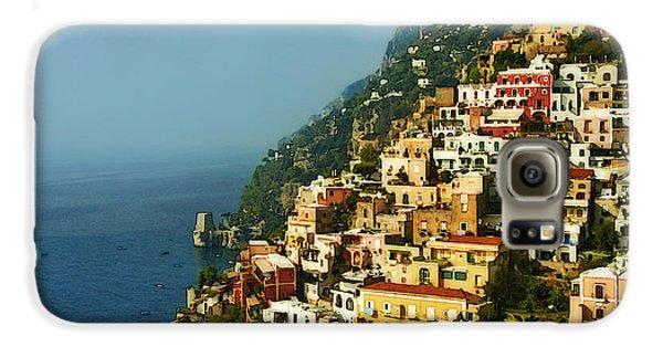 Amalfi Coast Hillside II Galaxy S6 Case