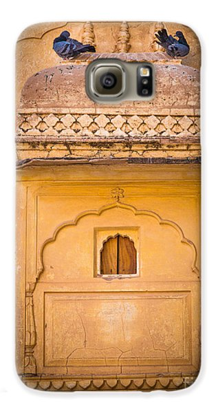 Amber Fort Birdhouse Galaxy S6 Case by Inge Johnsson