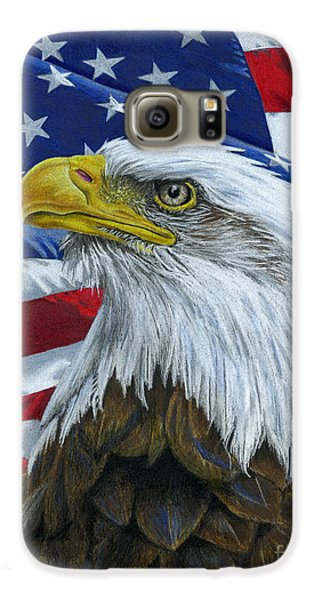 American Eagle Galaxy S6 Case by Sarah Batalka