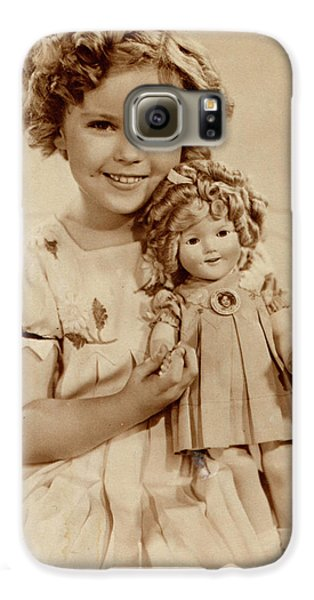 Shirley Temple Galaxy S6 Case - American Film Actress Shirley  Temple by Mary Evans Picture Library