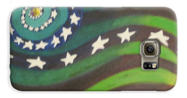 American Flag Reprise Galaxy S6 Case