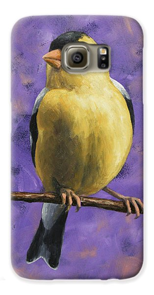 Finch Galaxy S6 Case - American Goldfinch by Crista Forest
