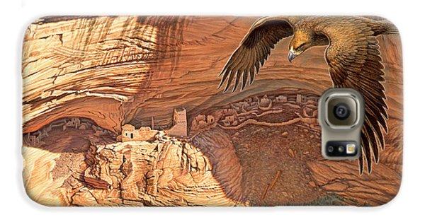 Eagle Galaxy S6 Case - Anasazi - Ancient Ones by Paul Krapf