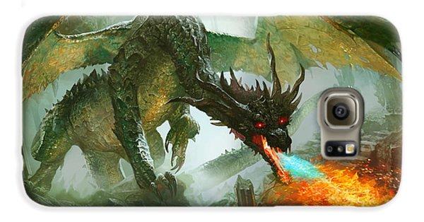 Fantasy Galaxy S6 Case - Ancient Dragon by Ryan Barger