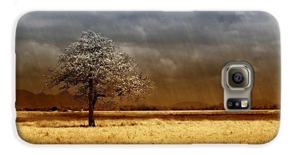 Landscapes Galaxy S6 Case - And The Rains Came by Holly Kempe