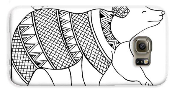 Animal Bear Galaxy S6 Case by Neeti Goswami
