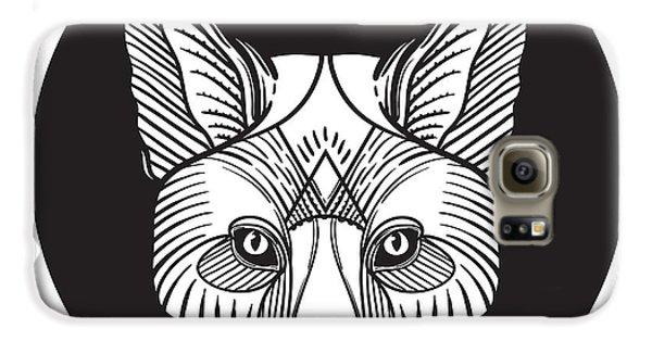 Magician Galaxy S6 Case - Animal Fox Head Print For Adult Anti by Vavavka