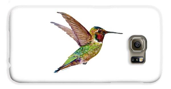 Anna Hummingbird Galaxy S6 Case by Amy Kirkpatrick