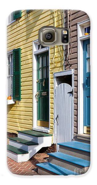 Annapolis Historic Homes I Galaxy S6 Case