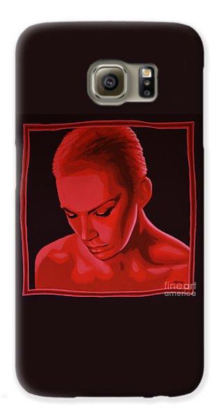 Rhythm And Blues Galaxy S6 Case - Annie Lennox by Paul Meijering