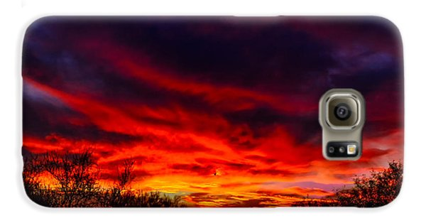 Another Tucson Sunset Galaxy S6 Case by Mark Myhaver