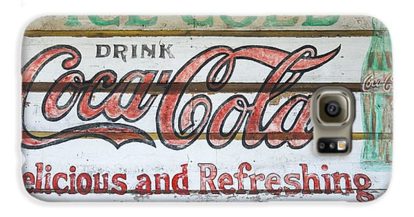 Antique Coca Cola Sign  Galaxy S6 Case