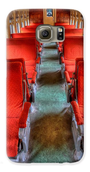 Antique Railroad Coach Car Galaxy S6 Case