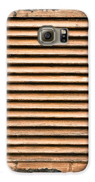 Antique Wooden Shutter Galaxy S6 Case by Tom Gowanlock