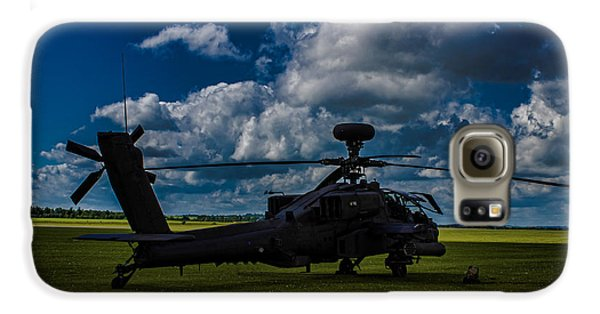 Apache Gun Ship Galaxy S6 Case by Martin Newman