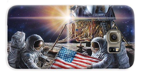 Apollo 11 Galaxy S6 Case by Don Dixon