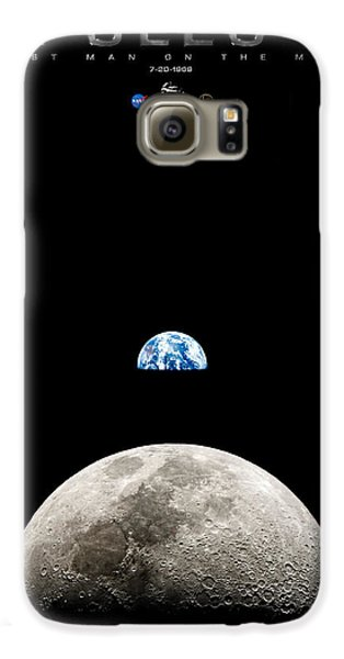Apollo 11 First Man On The Moon Galaxy S6 Case