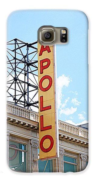 Harlem Galaxy S6 Case - Apollo Theater Sign by Valentino Visentini