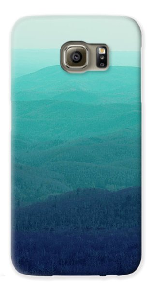 Appalachian Mountains Galaxy S6 Case by Kim Fearheiley