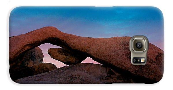 Arch Rock Evening Galaxy S6 Case by Stephen Stookey