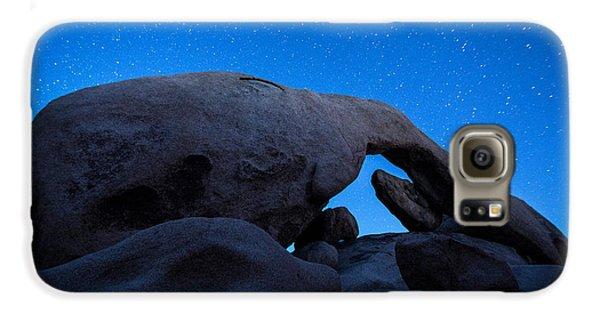 Arch Rock Starry Night 2 Galaxy S6 Case by Stephen Stookey