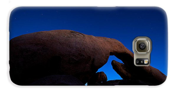 Arch Rock Starry Night Galaxy S6 Case by Stephen Stookey