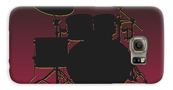 Arizona Cardinals Drum Set Galaxy S6 Case by Joe Hamilton