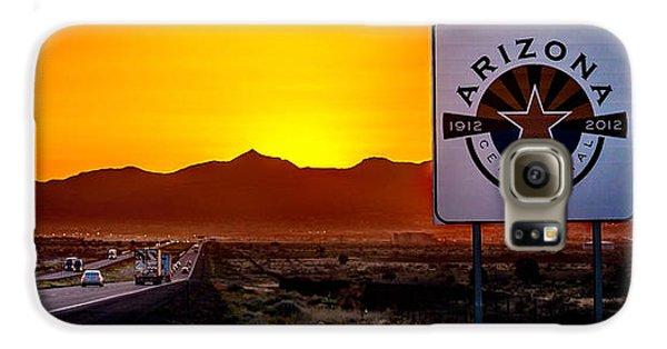 Truck Galaxy S6 Case - Arizona Centennial by Az Jackson