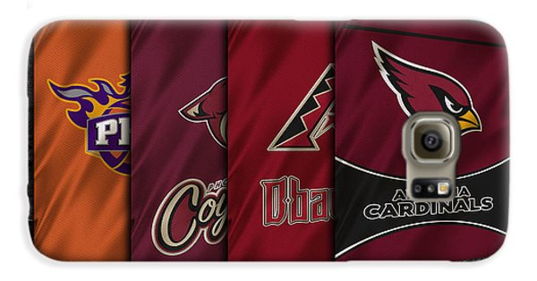 Arizona Sports Teams Galaxy S6 Case by Joe Hamilton