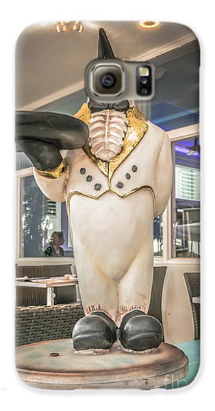 Art Deco Penguin Waiter South Beach Miami - Hdr Style Galaxy S6 Case