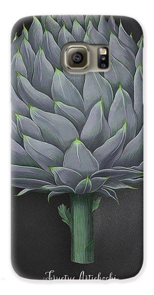Artichoke Kitchen Art Print Galaxy S6 Case