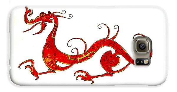 Dragon Galaxy S6 Case - Asian Dragon by Michael Vigliotti