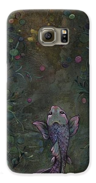 Aspiration Of The Koi Galaxy S6 Case by Shadia Derbyshire